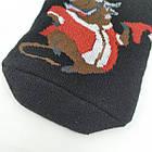 Носки мужские махровые высокие,BEAUTY SOCKS, р27-31, быки черные 20037437, фото 2