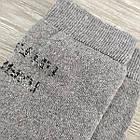Носки мужские махровые средние новогодние GRAND 27-29р серые, фото 6