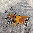 Носки мужские махровые средние новогодние GRAND 27-29р серые, фото 7