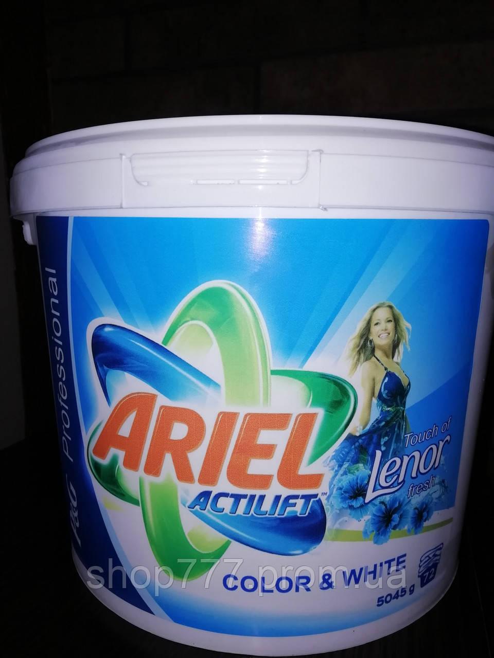 Пральний порошок Ariel Actilift Lenor Concetrate 5 kg на 95 прань універсальний,Венгрия