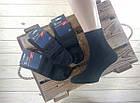Чёрные мужские носки демисезонные Класик ® Черкасы Украина размер 29 лайкра НМД-051026, фото 2