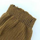 Чулки для старших женщин 11В5002 УКРАИНА, классические с резинкой, размер 23, коричневые, 20023294, фото 5