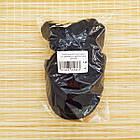 Шапка унисекс шерстяная с козырьком и отворотом синяя 20038083, фото 5