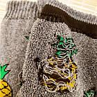 Женские носки махра зимние ТОП-ТАП Житомир Украина 23-25 размер ананас ассорти 20039615, фото 3