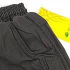 Штаны подростковые болоневые с подкладом и карманами BLV размер S-2XL черные 20037956, фото 5