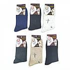 Носки мужские шерстяные без махры высокие UYUT А19 42-48р ассорти 20037482, фото 2