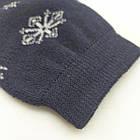 Женские носки с махрой ЖИТОМИР СТИЛЬ 23-25 ассорти снежинки 20034283, фото 7
