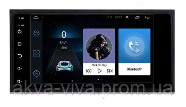 """Универсальная магнитола Toyota 7"""" на базе Android (М-Ун-7т)"""