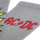 Носки с приколами демисезонные LOMM Premium 0219 AC/DC Butt-head Украина р41-46 серые 20035259, фото 3