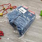 Носки женские махровые высокие Capitano 23-25р олень бирюзовый, фото 7