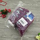 Носки женские махровые высокие GRAND 23-25р коровы фиолетовые, фото 7