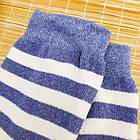 Носки женские махровые высокие полосатые Рубеж-текс 23-25р джинс 20038229, фото 6