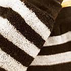 Носки женские махровые высокие полосатые Рубеж-текс 23-25р черные 20038212, фото 3