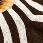 Носки женские махровые высокие полосатые Рубеж-текс 23-25р черные 20038212, фото 5
