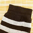 Носки женские махровые высокие полосатые Рубеж-текс 23-25р черные 20038212, фото 6