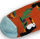 Носки с приколами демисезонные Neseli Coraplar Toucan Orange 7171 Турция one size (37-44р) 20034757, фото 4