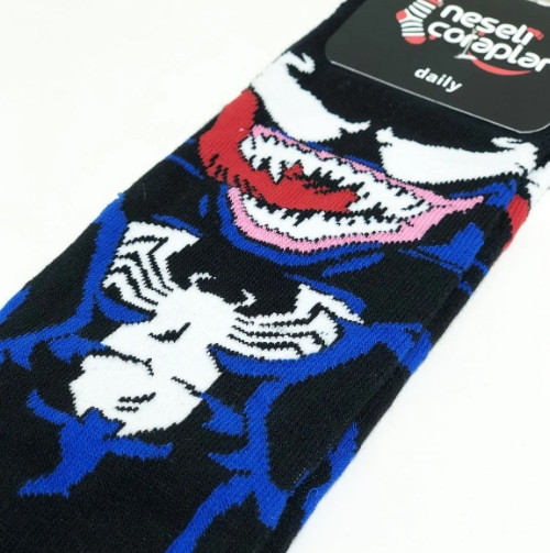 Носки с приколами демисезонные Neseli Coraplar Venom 7180 Турция one size (37-44р) 20033385