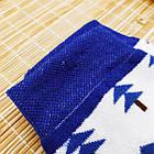 Носки женские махровые высокие с рисунком Рубеж-текс 23-25р ёлки белые 20038151, фото 6