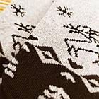Носки женские махровые высокие с рисунком Рубеж-текс 23-25р олень черные 20038250, фото 3