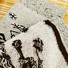 Носки женские махровые высокие с рисунком Рубеж-текс 23-25р олень черные 20038250, фото 4