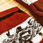 Носки женские махровые высокие с рисунком Рубеж-текс 23-25р орнамент бордовые 20038168, фото 4