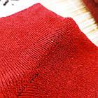 Носки женские махровые высокие с рисунком Рубеж-текс 23-25р орнамент бордовые 20038168, фото 5
