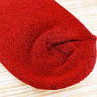 Носки женские махровые высокие с рисунком Рубеж-текс 23-25р орнамент бордовые 20038168, фото 6