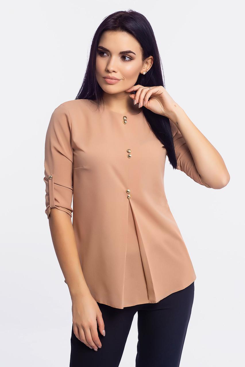 S, M, L, XL | Нарядна жіноча блузка Levis, бежевий