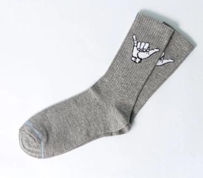 Носки с приколами демисезонные ароматизированные LOMM Жесты Алло 0116 серые Украина 40-45 размер 20035297