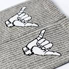 Носки с приколами демисезонные ароматизированные LOMM Жесты Алло 0116 серые Украина 40-45 размер 20035297, фото 3