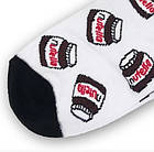 Носки с приколами демисезонные короткие Neseli Coraplar 5857 Nutella Турция one size (37-44р) 20036263, фото 2