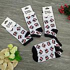 Носки с приколами демисезонные короткие Neseli Coraplar 5857 Nutella Турция one size (37-44р) 20036263, фото 6
