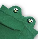 Носки с приколами демисезонные короткие Neseli Coraplar Emoji Green Embroidered 7410 Турция one size (37-44р), фото 2