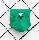 Носки с приколами демисезонные короткие Neseli Coraplar Emoji Green Embroidered 7410 Турция one size (37-44р), фото 4