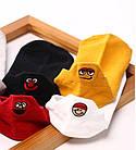 Носки с приколами демисезонные короткие Neseli Coraplar Emoji Orange Embroidered 7406 Турция one size (37-44р), фото 5