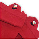Носки с приколами демисезонные короткие Neseli Coraplar Emoji Red Embroidered 7405 Турция one size (37-44р), фото 3