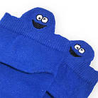Носки с приколами демисезонные короткие Neseli Coraplar Emoji Sax Embroidered 7408 Турция one size (37-44р), фото 2
