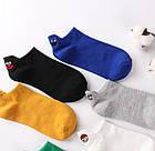 Носки с приколами демисезонные короткие Neseli Coraplar Emoji Sax Embroidered 7408 Турция one size (37-44р), фото 4