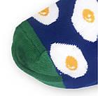 Носки с приколами демисезонные короткие Neseli Coraplar Saks Egg 7403 Турция one size (37-44р) 20034672, фото 5