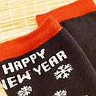 """Носки женские новогодние махровые """"Слід Лева"""" 39-41р машина ассорти 20040192, фото 4"""