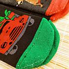 """Носки женские новогодние махровые """"Слід Лева"""" 39-41р машина ассорти 20040192, фото 5"""