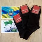 Носки чёрные женские демисезонные х/б Житомир 35-41 НЖД-02922, фото 4
