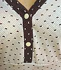 """Ночная сорочка женская трикотаж """"ПАРИЖАНКА"""" р112 20037000, фото 5"""