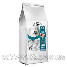 Home Food DOG ADULT MEDIUM   «Форель с рисом» гипоаллергенный корм для собак средних пород  1кг