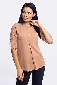 Нарядная женская блузка Levis, бежевый