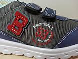 Кросівки дитячі на хлопчика Tom.M 7175B темно-сині. 22-27 розміри, фото 9