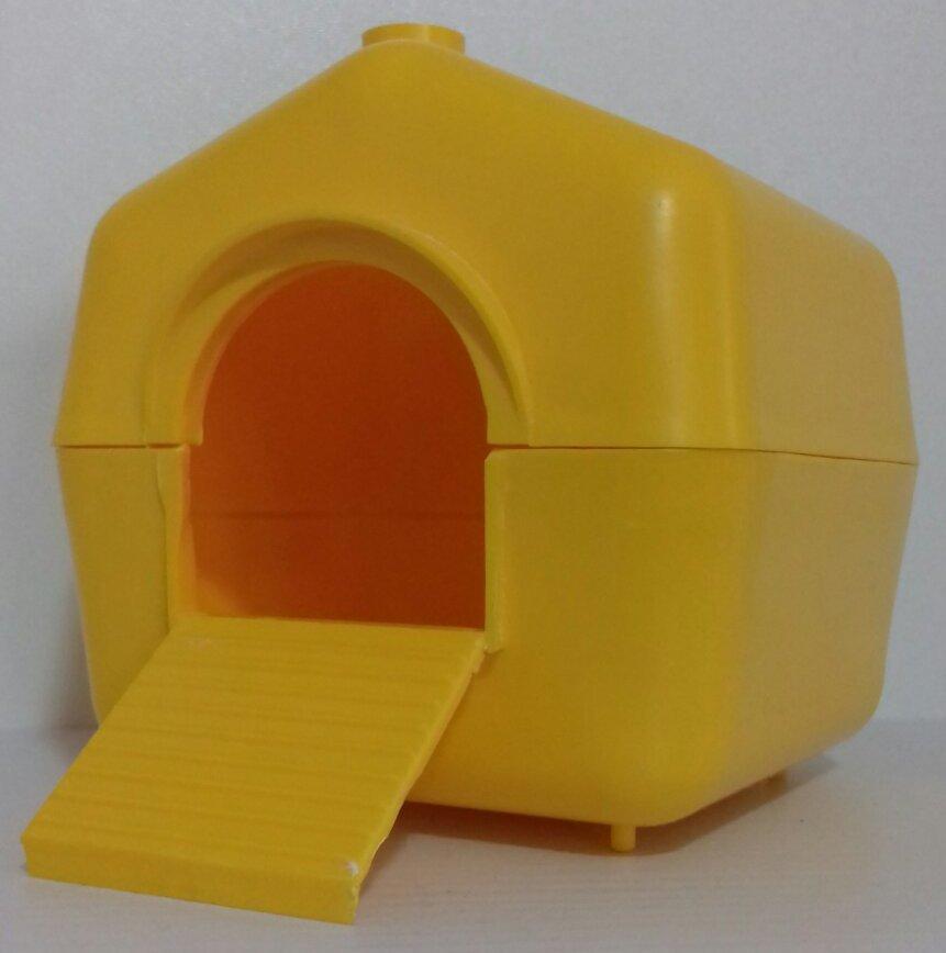 Домик пластиковый для малых грызунов НП 011 Лори
