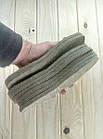 """Стельки """"ВАЛЕНОК"""" (плотный войлок) зимние 48 размер Украина толщина 8мм беж СТЕЛ-290034, фото 5"""