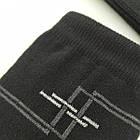 Носки мужские демисезонные средние Loft Socks 25-27р черные с узором 20034139, фото 3