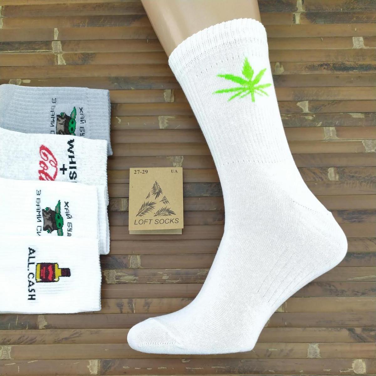 Носки мужские демисезонные средние Loft Socks 27-29р случайное ассорти 20035327